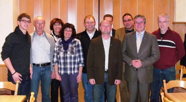 Der neue Vorstand des CDU-Gemeindeverbandes Rheinböllen