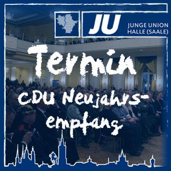 Termin Neujahrsempfang CDU