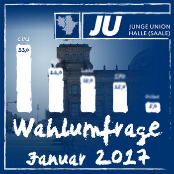 Umfrage Bundestagswahl 2017 - 1
