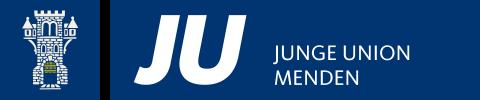 Logo von Junge Union Menden