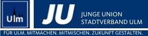 Logo von Junge Union Stadtverband Ulm