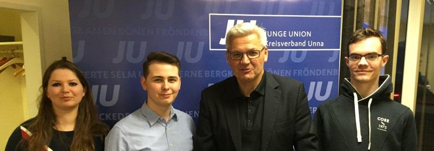 Hubert Hüppe MdB war bei uns zu Gast