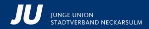 Logo von Junge Union Stadtverband Neckarsulm