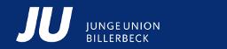 Logo von JUNGE UNION STADTVERBAND BILLERBECK