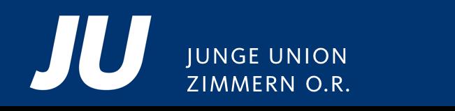 Logo von Junge Union Zimmern o.R.