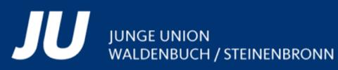 Logo von Junge Union Waldenbuch/Steinenbronn